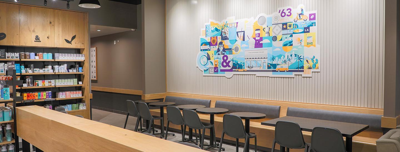 The Coffee Bean & Tea Leaf Store Interior