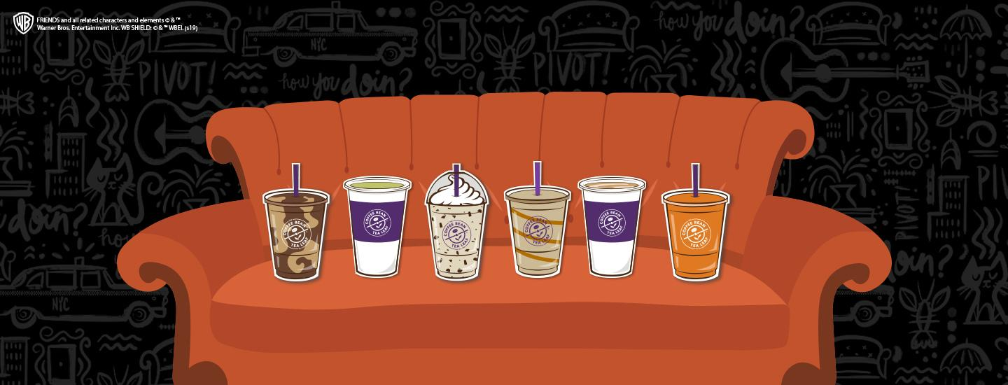 The Coffee Bean & Tea Leaf Friends Beverages