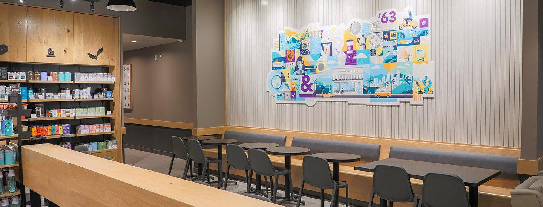 The Coffee Bean & Tea Leaf Moreno Valley Store Interior
