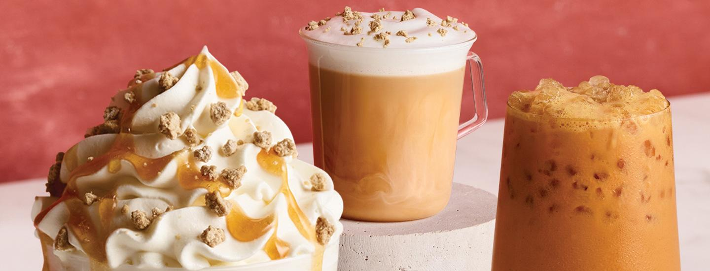 Fall Beverages from The Coffee Bean