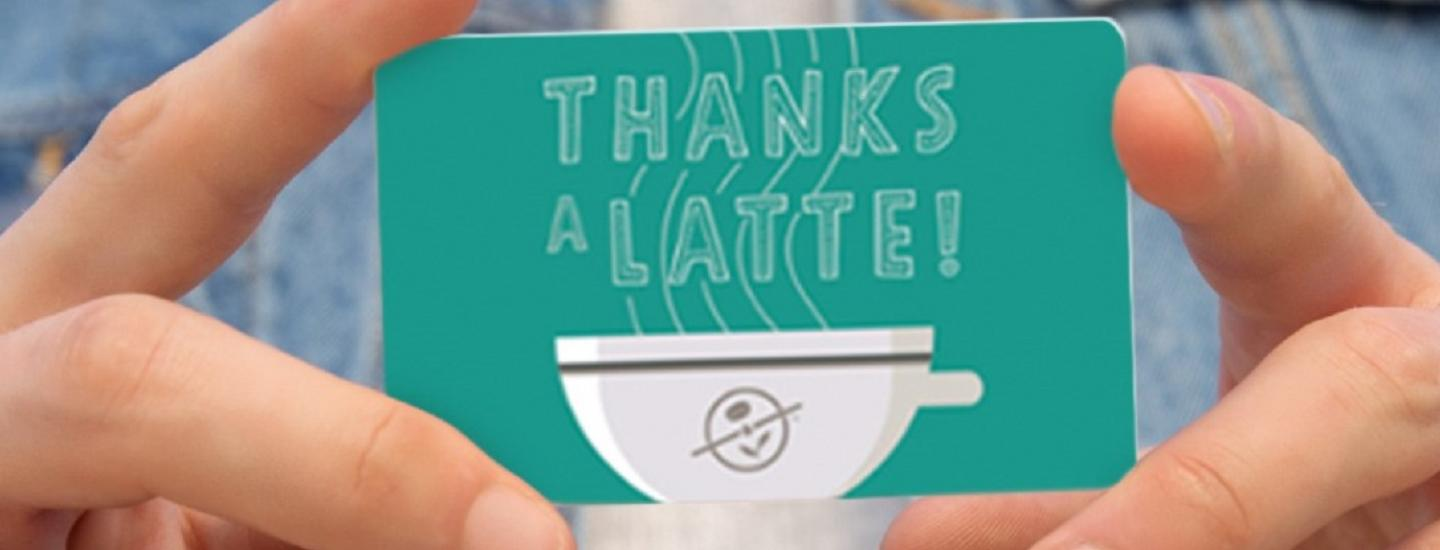 """9 Back-to-School Gifts for Teachers (featuring a """"thanks a latte"""" gift card image)"""