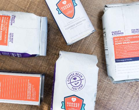 "The Coffee Bean & Tea Leaf Launches ""Heroes At Heart"" Program To Benefit First Responders"