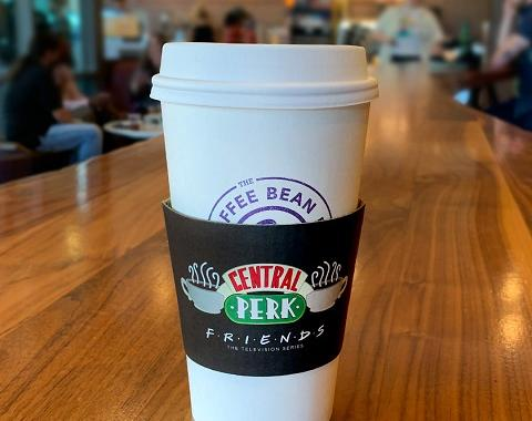 Central Perk Coffee Cup