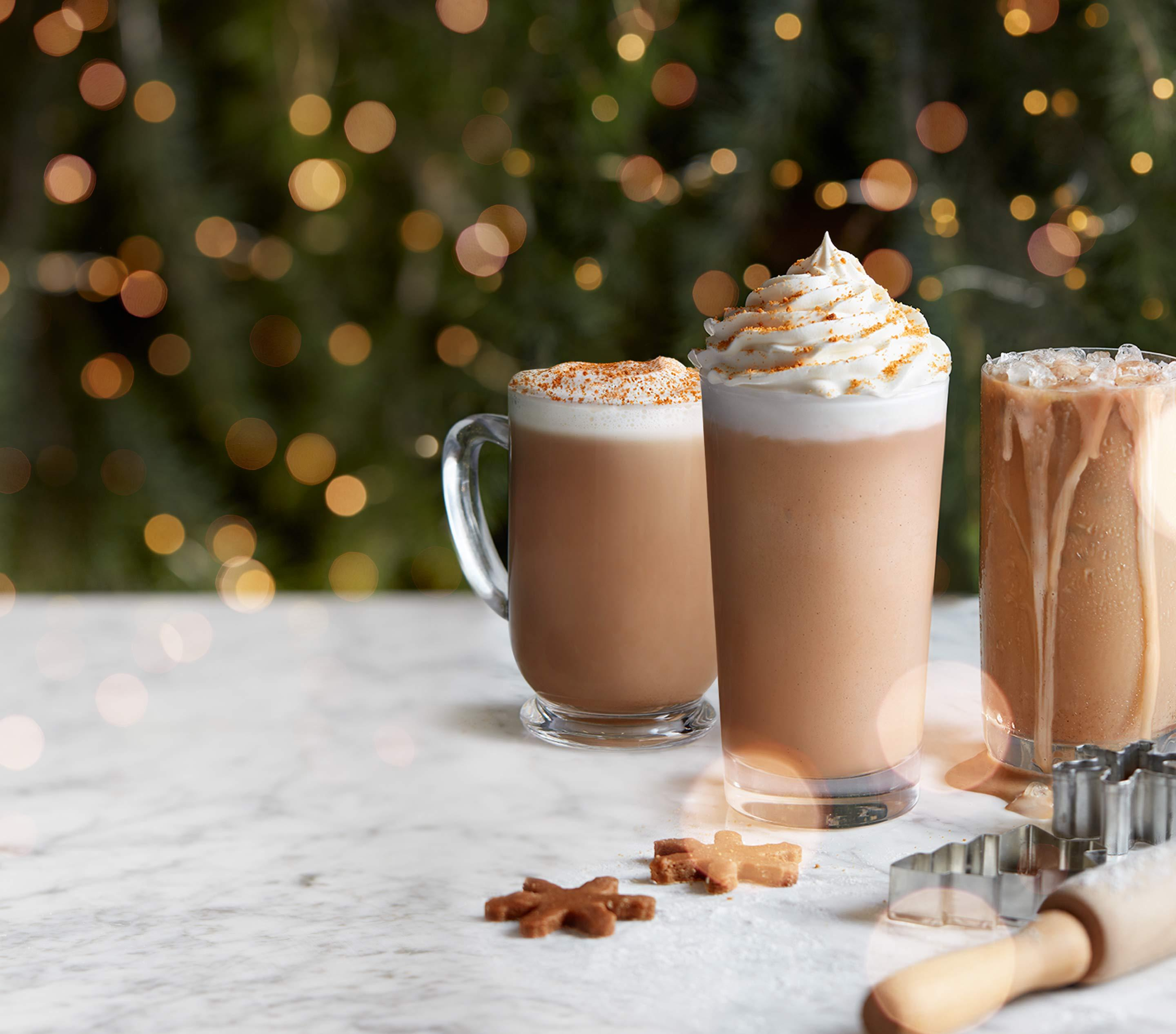 Cookie Butter Latte Iced Latte Ice Blended Drink The Coffee Bean Tea Leaf