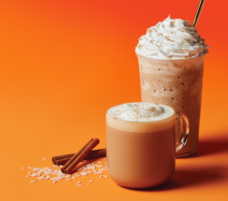 Horchata Latte, Iced Latte & Ice Blended® Drink