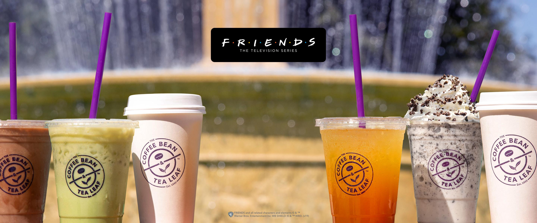 The Coffee Bean & Tea Leaf Friends Beverages