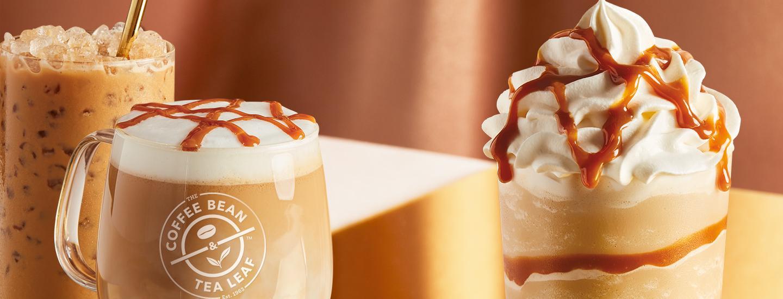 Dulce de Leche Lattes & Ice Blended drink