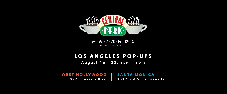Central Perk Los Angeles Pop Up