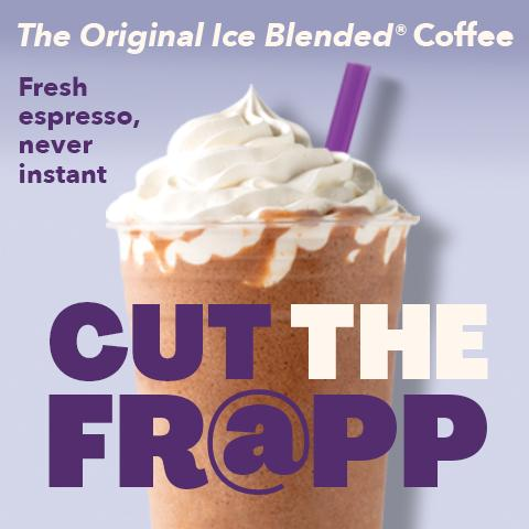The Original Mocha Ice Blended drink made with fresh espresso, never instant